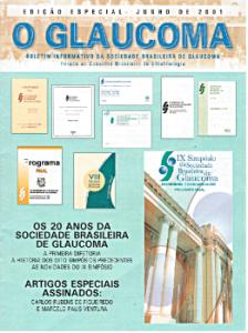 """Boletim Informativo """"O Glaucoma"""" da SBG (edição junho de 2001)"""