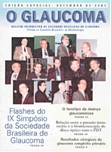 """Boletim Informativo """"O Glaucoma"""" da SBG (edição setembro de 2001)"""