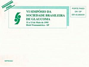 Livro Programa do VI Simpósio da SBG