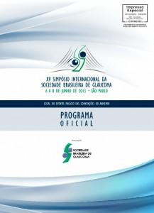 Programa Oficial do XV Simpósio da SBG