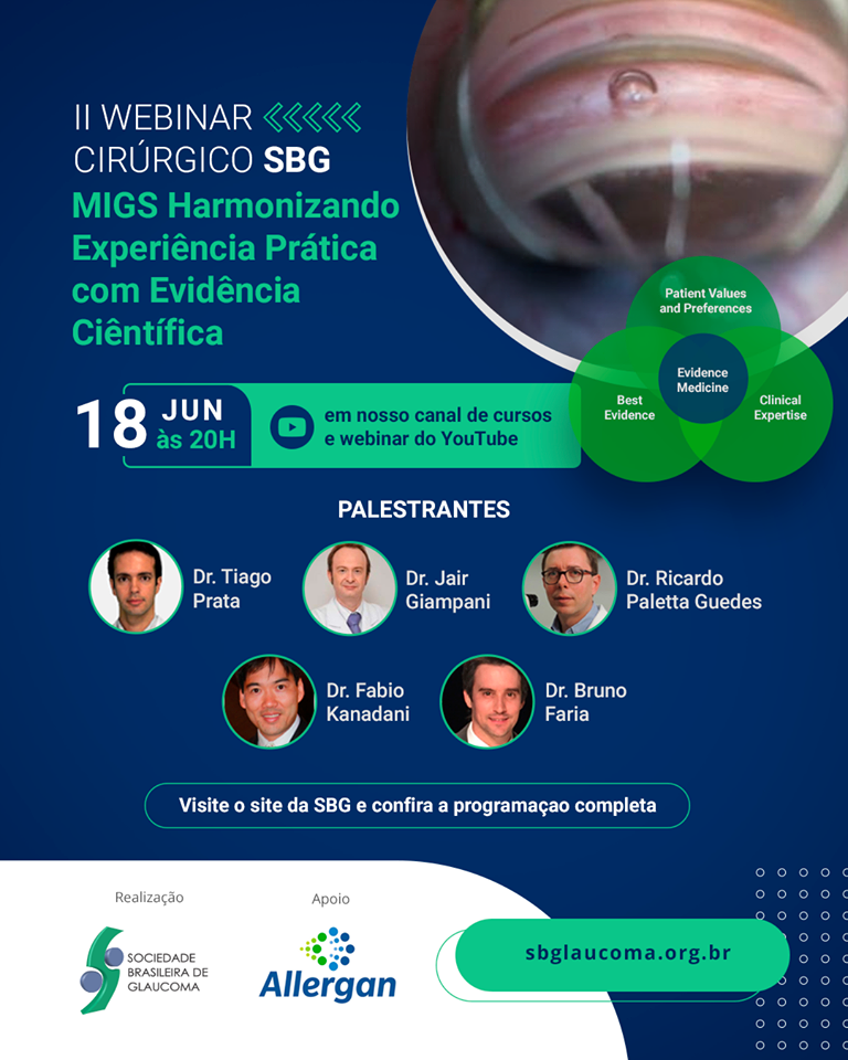 II Webinar Cirúrgico MIGS Harmonizando Experiência Prática com Evidência Científica